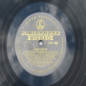 Please Please Me UK Stereo Gold Label PCS 3042 The Beatles