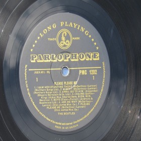 Beatles Please Please Me Mono Gold Label PMC 1202 Northern Songs  Credits