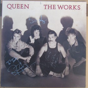 The Works LP Queen Signed Autographed Genuine