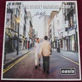 What's the Story Morning Glory?  Creation LP Original Signed by Michael Spencer Jones